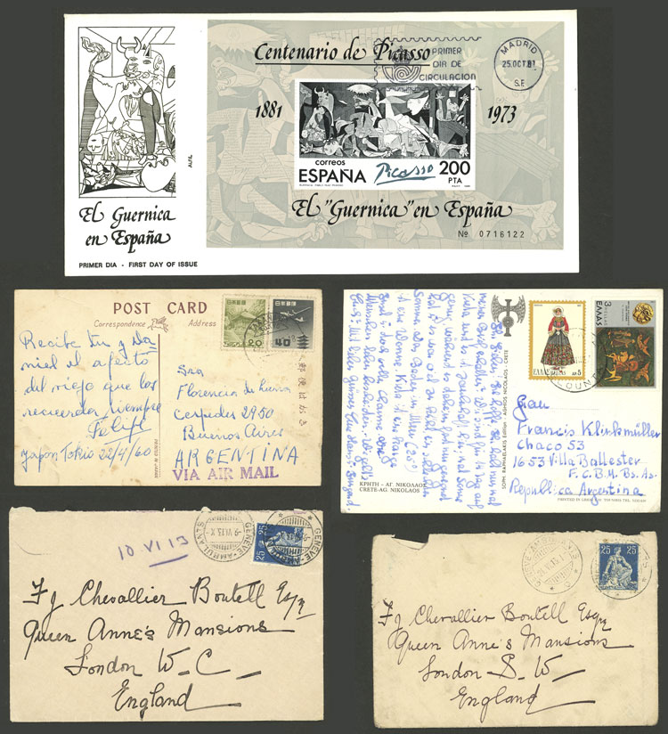 Lot 1336 - worldwide postal history -  Guillermo Jalil - Philatino Auction # 2110 WORLDWIDE + ARGENTINA: End of Summer auction