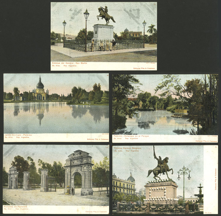 Lot 464 - Argentina postcards -  Guillermo Jalil - Philatino Auction # 2110 WORLDWIDE + ARGENTINA: End of Summer auction