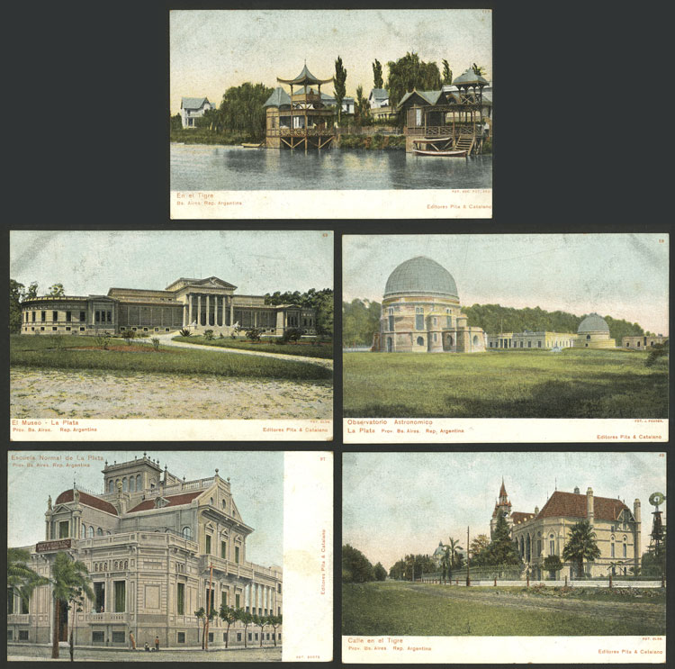 Lot 465 - Argentina postcards -  Guillermo Jalil - Philatino Auction # 2110 WORLDWIDE + ARGENTINA: End of Summer auction