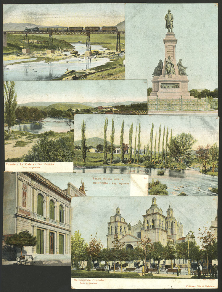 Lot 468 - Argentina postcards -  Guillermo Jalil - Philatino Auction # 2110 WORLDWIDE + ARGENTINA: End of Summer auction