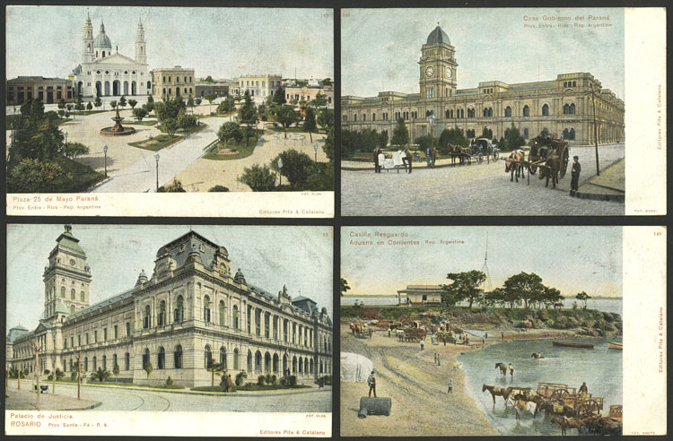 Lot 479 - Argentina postcards -  Guillermo Jalil - Philatino Auction # 2110 WORLDWIDE + ARGENTINA: End of Summer auction