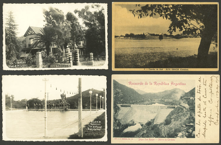 Lot 467 - Argentina postcards -  Guillermo Jalil - Philatino Auction # 2110 WORLDWIDE + ARGENTINA: End of Summer auction