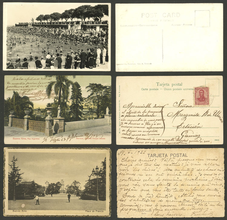 Lot 466 - Argentina postcards -  Guillermo Jalil - Philatino Auction # 2110 WORLDWIDE + ARGENTINA: End of Summer auction