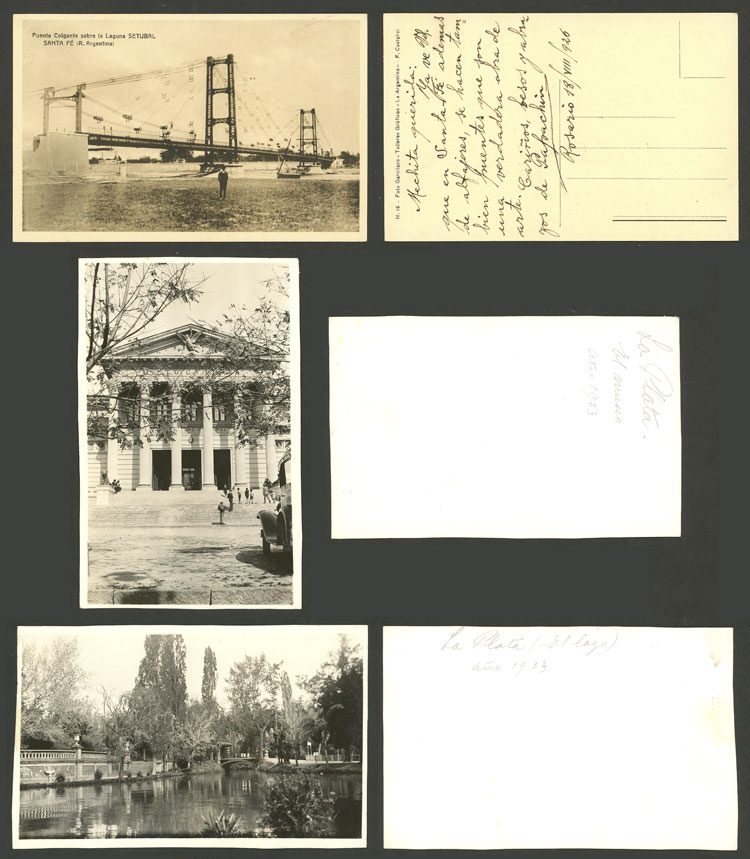 Lot 481 - Argentina postcards -  Guillermo Jalil - Philatino Auction # 2110 WORLDWIDE + ARGENTINA: End of Summer auction
