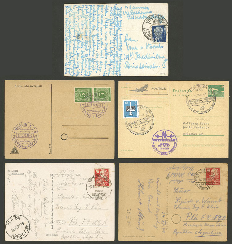 Lot 101 - germany postal history -  Guillermo Jalil - Philatino Auction # 2110 WORLDWIDE + ARGENTINA: End of Summer auction
