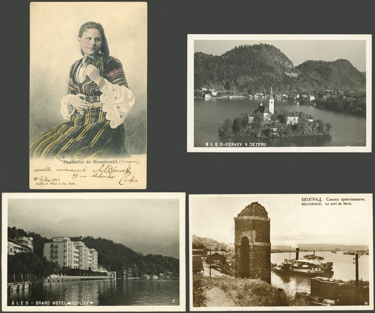 Lot 618 - Bulgaria postcards -  Guillermo Jalil - Philatino Auction # 2110 WORLDWIDE + ARGENTINA: End of Summer auction