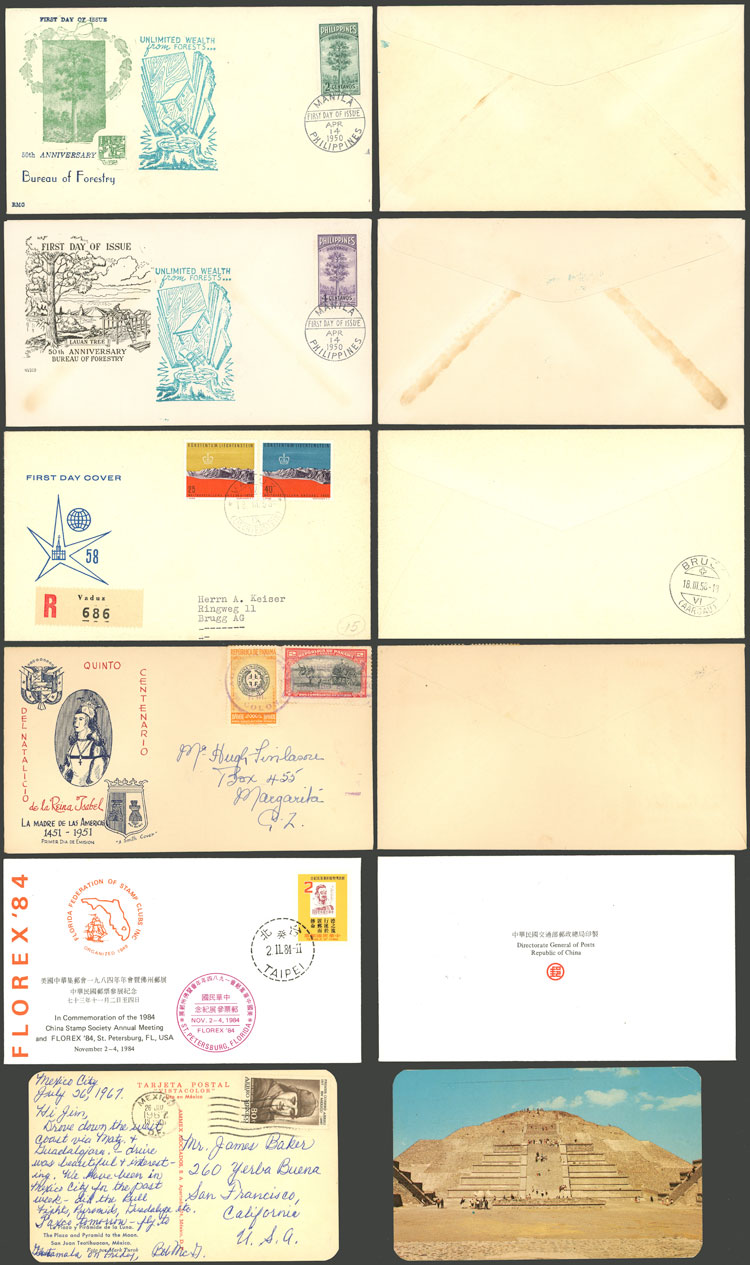 Lot 1321 - worldwide postal history -  Guillermo Jalil - Philatino Auction # 2110 WORLDWIDE + ARGENTINA: End of Summer auction