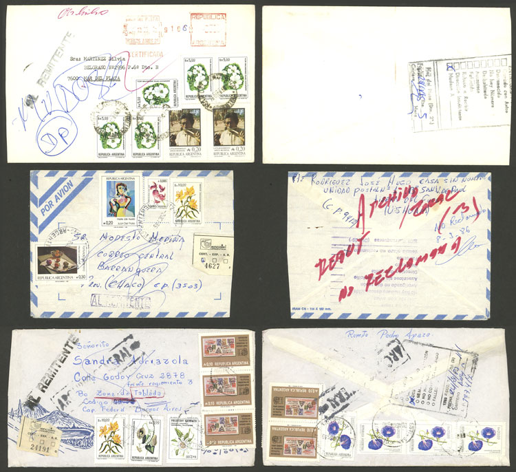 Lot 425 - Argentina postal history -  Guillermo Jalil - Philatino Auction # 2110 WORLDWIDE + ARGENTINA: End of Summer auction