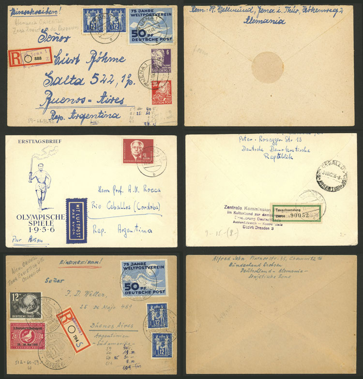 Lot 100 - germany postal history -  Guillermo Jalil - Philatino Auction # 2110 WORLDWIDE + ARGENTINA: End of Summer auction