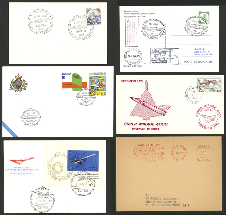 Lot 8 - topic aviation Lots and Collections -  Guillermo Jalil - Philatino Auction # 2110 WORLDWIDE + ARGENTINA: End of Summer auction