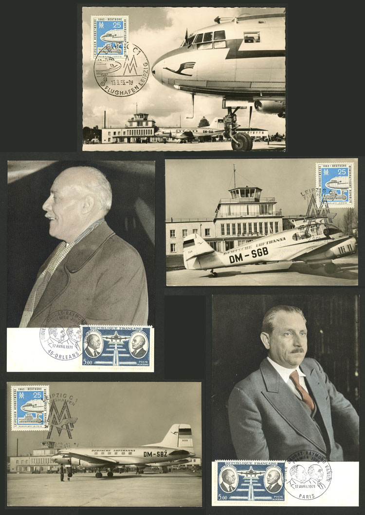Lot 9 - topic aviation Lots and Collections -  Guillermo Jalil - Philatino Auction # 2110 WORLDWIDE + ARGENTINA: End of Summer auction
