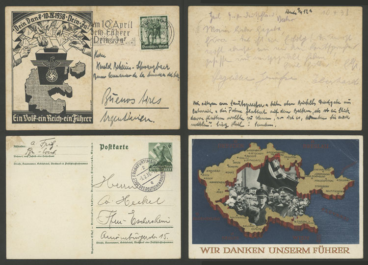 Lot 87 - germany postal history -  Guillermo Jalil - Philatino Auction # 2110 WORLDWIDE + ARGENTINA: End of Summer auction