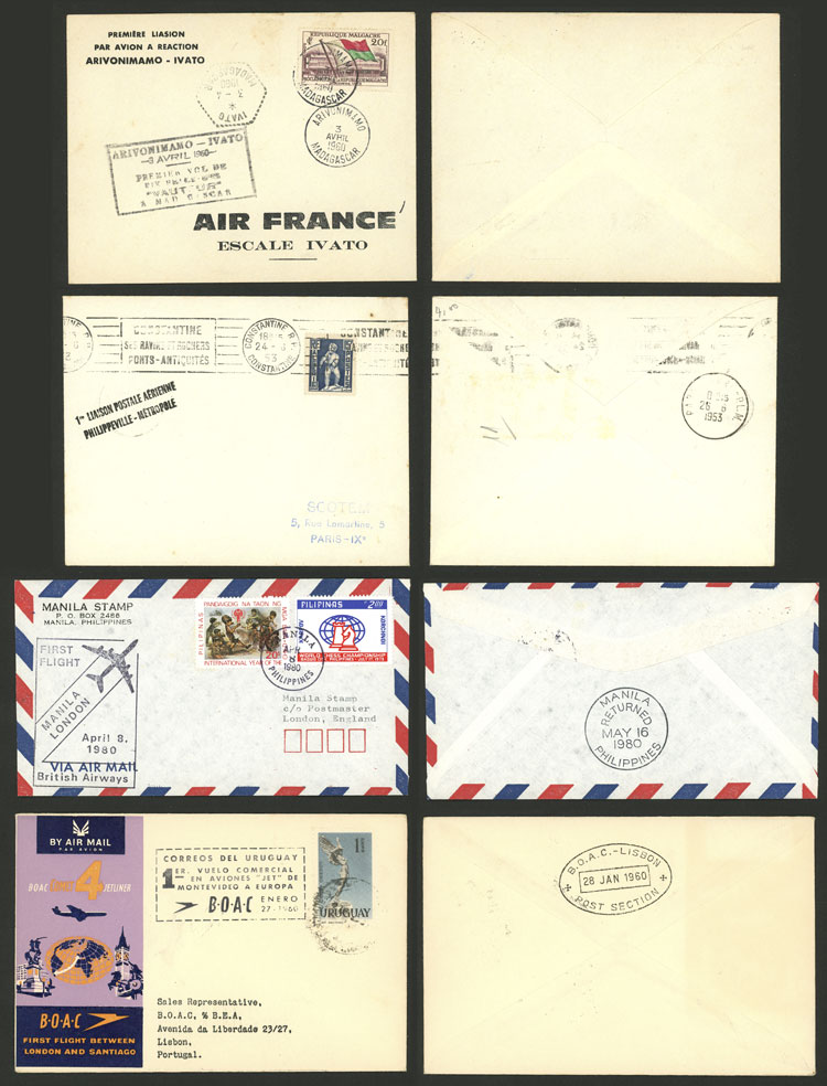 Lot 6 - topic aviation postal history -  Guillermo Jalil - Philatino Auction # 2110 WORLDWIDE + ARGENTINA: End of Summer auction
