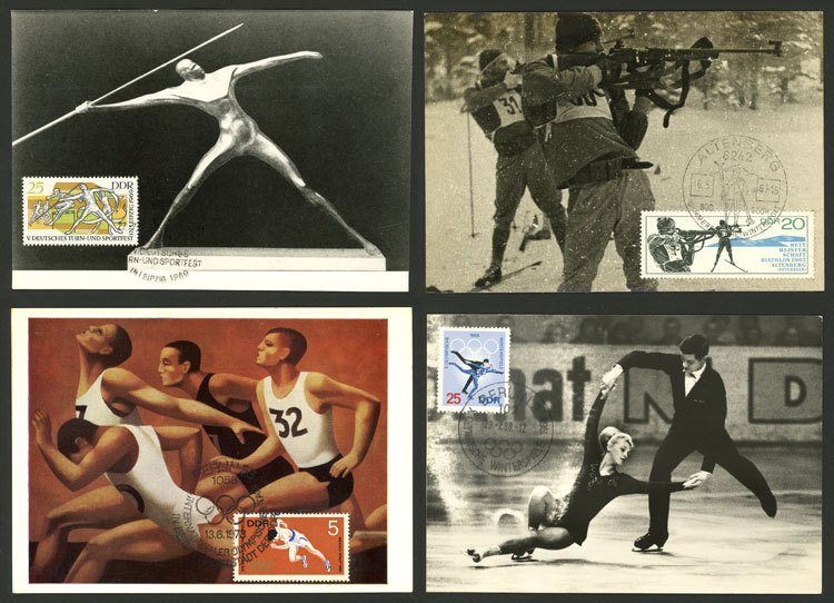 Lot 14 - topic sport Lots and Collections -  Guillermo Jalil - Philatino Auction # 2110 WORLDWIDE + ARGENTINA: End of Summer auction