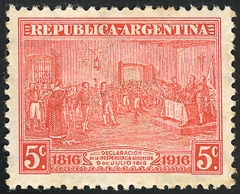 Lot 232 - Argentina general issues -  Guillermo Jalil - Philatino Auction # 2110 WORLDWIDE + ARGENTINA: End of Summer auction