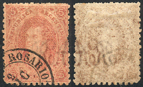 Lot 159 - Argentina rivadavias -  Guillermo Jalil - Philatino Auction # 2110 WORLDWIDE + ARGENTINA: End of Summer auction