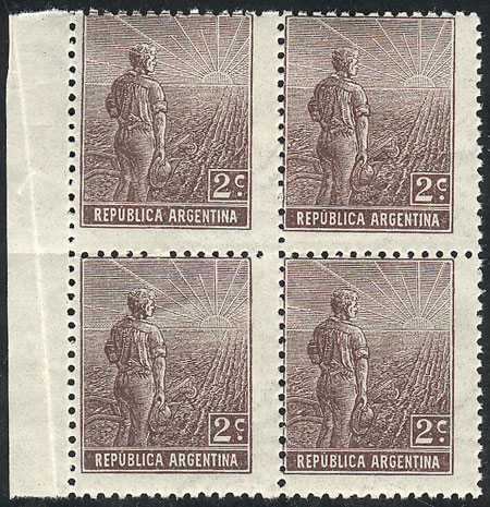 Lot 228 - Argentina general issues -  Guillermo Jalil - Philatino Auction # 2110 WORLDWIDE + ARGENTINA: End of Summer auction