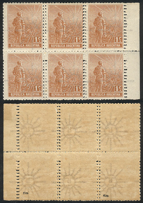 Lot 229 - Argentina general issues -  Guillermo Jalil - Philatino Auction # 2110 WORLDWIDE + ARGENTINA: End of Summer auction