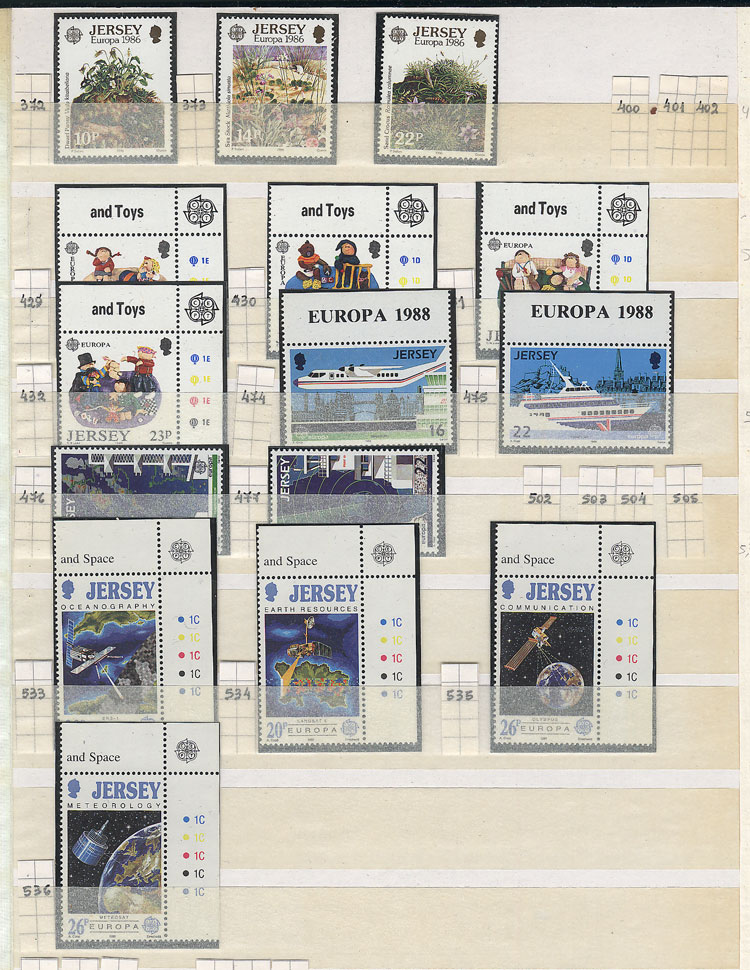 Lot 22 - topic europa Lots and Collections -  Guillermo Jalil - Philatino Auction # 2110 WORLDWIDE + ARGENTINA: End of Summer auction