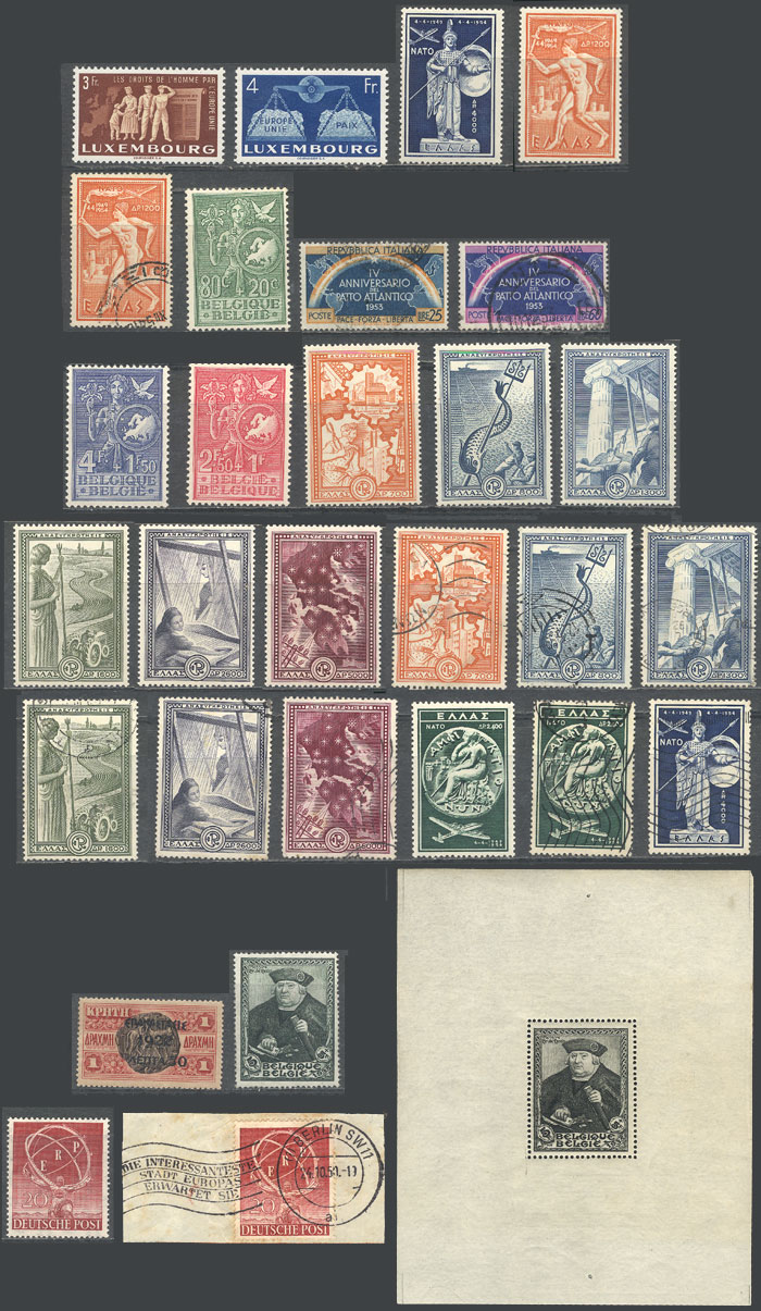 Lot 21 - topic europa Lots and Collections -  Guillermo Jalil - Philatino Auction # 2110 WORLDWIDE + ARGENTINA: End of Summer auction