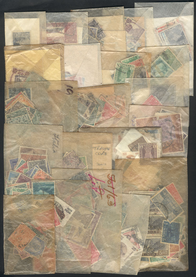 Lot 953 - india Lots and Collections -  Guillermo Jalil - Philatino Auction # 2110 WORLDWIDE + ARGENTINA: End of Summer auction