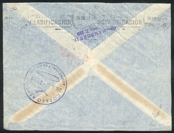 Lot 86 - germany postal history -  Guillermo Jalil - Philatino Auction # 2110 WORLDWIDE + ARGENTINA: End of Summer auction