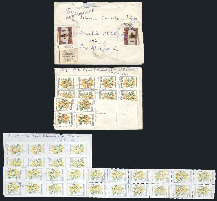 Lot 429 - Argentina postal history -  Guillermo Jalil - Philatino Auction # 2110 WORLDWIDE + ARGENTINA: End of Summer auction