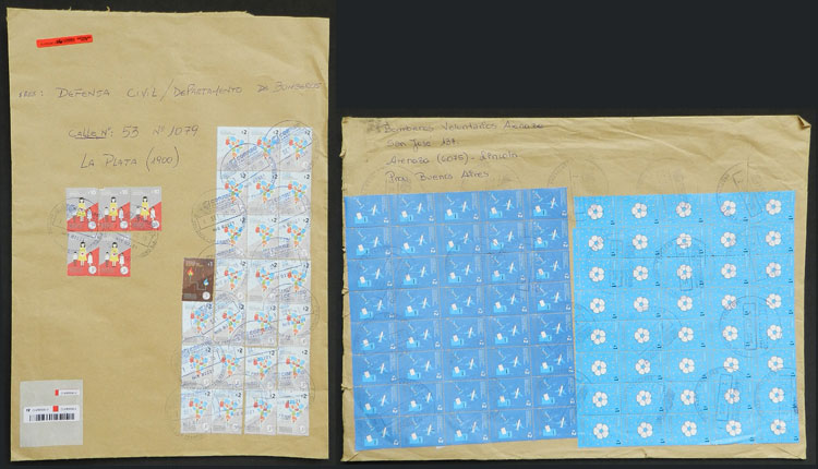 Lot 435 - Argentina postal history -  Guillermo Jalil - Philatino Auction # 2110 WORLDWIDE + ARGENTINA: End of Summer auction