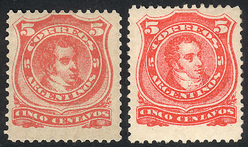 Lot 190 - Argentina general issues -  Guillermo Jalil - Philatino Auction # 2110 WORLDWIDE + ARGENTINA: End of Summer auction