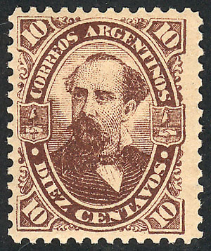 Lot 193 - Argentina general issues -  Guillermo Jalil - Philatino Auction # 2110 WORLDWIDE + ARGENTINA: End of Summer auction