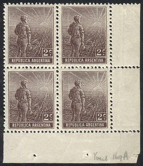 Lot 227 - Argentina general issues -  Guillermo Jalil - Philatino Auction # 2110 WORLDWIDE + ARGENTINA: End of Summer auction