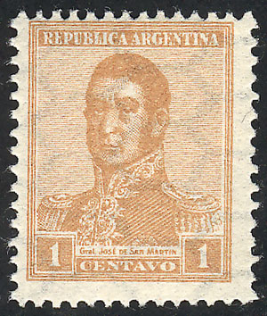 Lot 233 - Argentina general issues -  Guillermo Jalil - Philatino Auction # 2110 WORLDWIDE + ARGENTINA: End of Summer auction