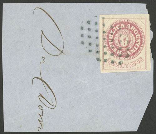 Lot 22 - Argentina escuditos -  Guillermo Jalil - Philatino Auction # 2111 ARGENTINA: Special April auction
