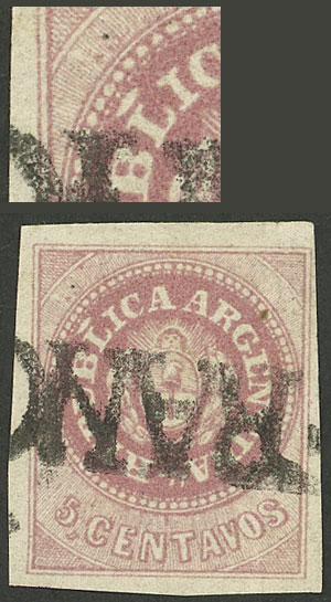 Lot 16 - Argentina escuditos -  Guillermo Jalil - Philatino Auction # 2111 ARGENTINA: Special April auction