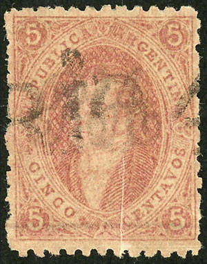 Lot 37 - Argentina rivadavias -  Guillermo Jalil - Philatino Auction # 2111 ARGENTINA: Special April auction