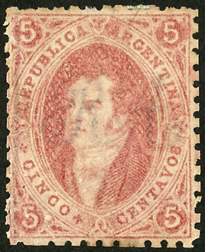 Lot 25 - Argentina rivadavias -  Guillermo Jalil - Philatino Auction # 2111 ARGENTINA: Special April auction