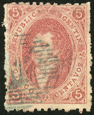Lot 26 - Argentina rivadavias -  Guillermo Jalil - Philatino Auction # 2111 ARGENTINA: Special April auction
