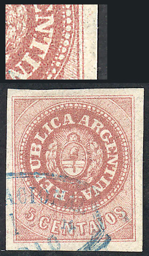 Lot 11 - Argentina escuditos -  Guillermo Jalil - Philatino Auction # 2111 ARGENTINA: Special April auction
