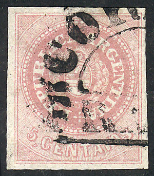 Lot 13 - Argentina escuditos -  Guillermo Jalil - Philatino Auction # 2111 ARGENTINA: Special April auction