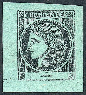 Lot 4 - Argentina corrientes -  Guillermo Jalil - Philatino Auction # 2111 ARGENTINA: Special April auction
