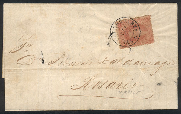Lot 35 - Argentina rivadavias -  Guillermo Jalil - Philatino Auction # 2111 ARGENTINA: Special April auction