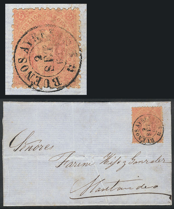 Lot 32 - Argentina rivadavias -  Guillermo Jalil - Philatino Auction # 2111 ARGENTINA: Special April auction