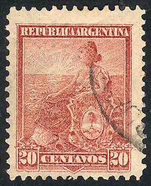Lot 265 - Argentina general issues -  Guillermo Jalil - Philatino Auction # 2112 ARGENTINA: Auction with interesting lots at budget prices!