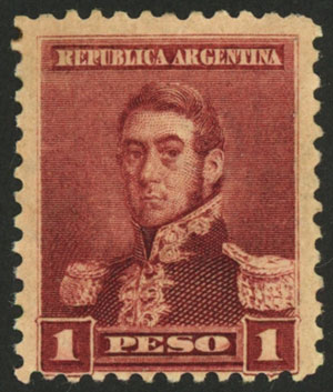 Lot 233 - Argentina general issues -  Guillermo Jalil - Philatino Auction # 2112 ARGENTINA: Auction with interesting lots at budget prices!