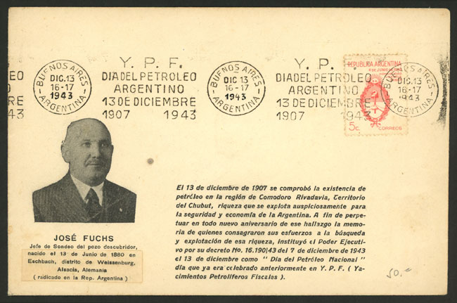 Lot 1493 - Argentina postal history -  Guillermo Jalil - Philatino Auction # 2112 ARGENTINA: Auction with interesting lots at budget prices!