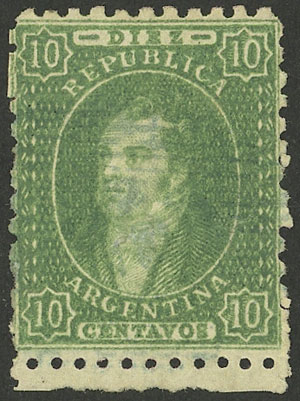 Lot 59 - Argentina rivadavias -  Guillermo Jalil - Philatino Auction # 2112 ARGENTINA: Auction with interesting lots at budget prices!