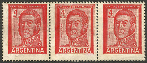 Lot 767 - Argentina general issues -  Guillermo Jalil - Philatino Auction # 2112 ARGENTINA: Auction with interesting lots at budget prices!