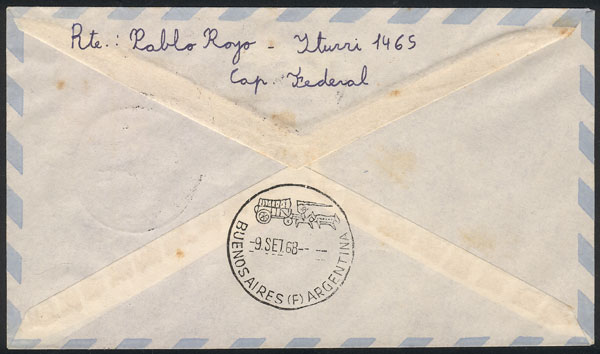 Lot 8 - argentine antarctica postal history -  Guillermo Jalil - Philatino Auction # 2112 ARGENTINA: Auction with interesting lots at budget prices!