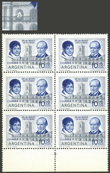 Lot 792 - Argentina general issues -  Guillermo Jalil - Philatino Auction # 2112 ARGENTINA: Auction with interesting lots at budget prices!