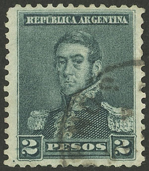 Lot 222 - Argentina general issues -  Guillermo Jalil - Philatino Auction # 2112 ARGENTINA: Auction with interesting lots at budget prices!